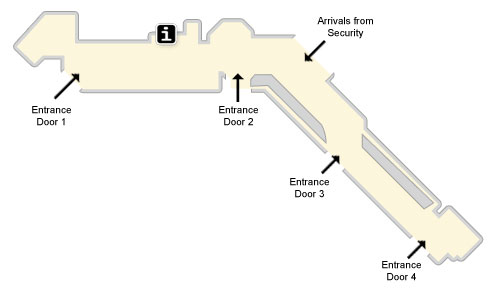 Manchester Airport T3 Parking >> Manchester Terminal 3 Maps Manchester Airport Guide