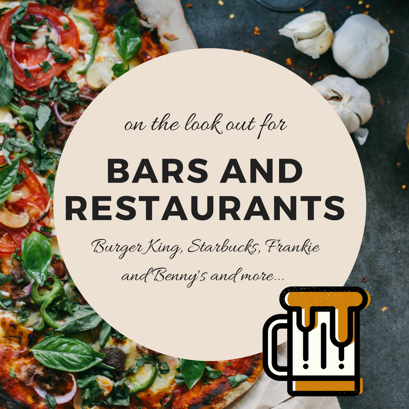 Bars and Restaurants leader, part of the shops at Manchester Airport Guide