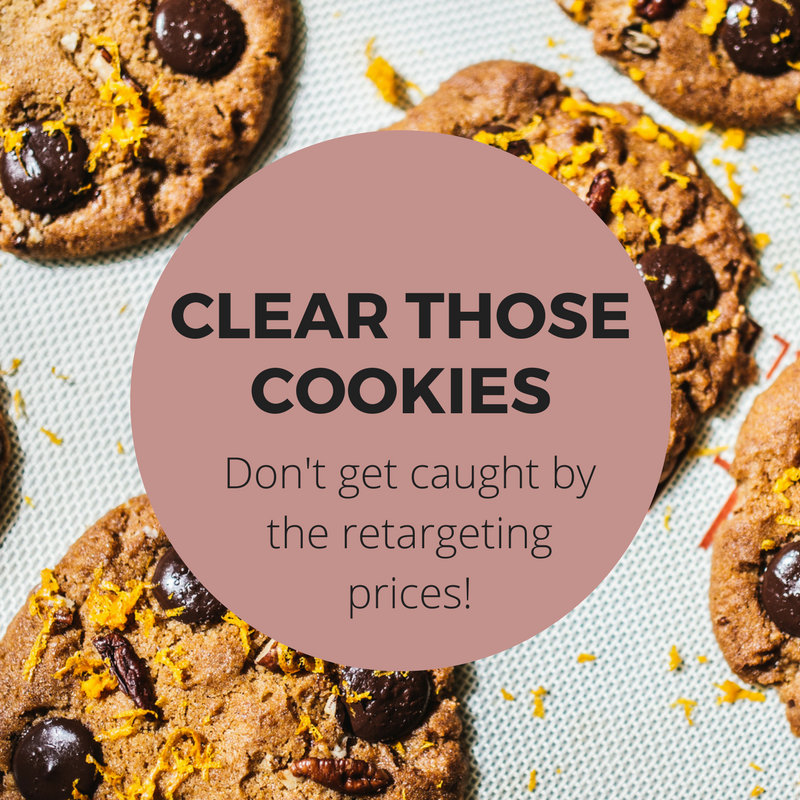 Book cheap flights tips - Clear those cookies