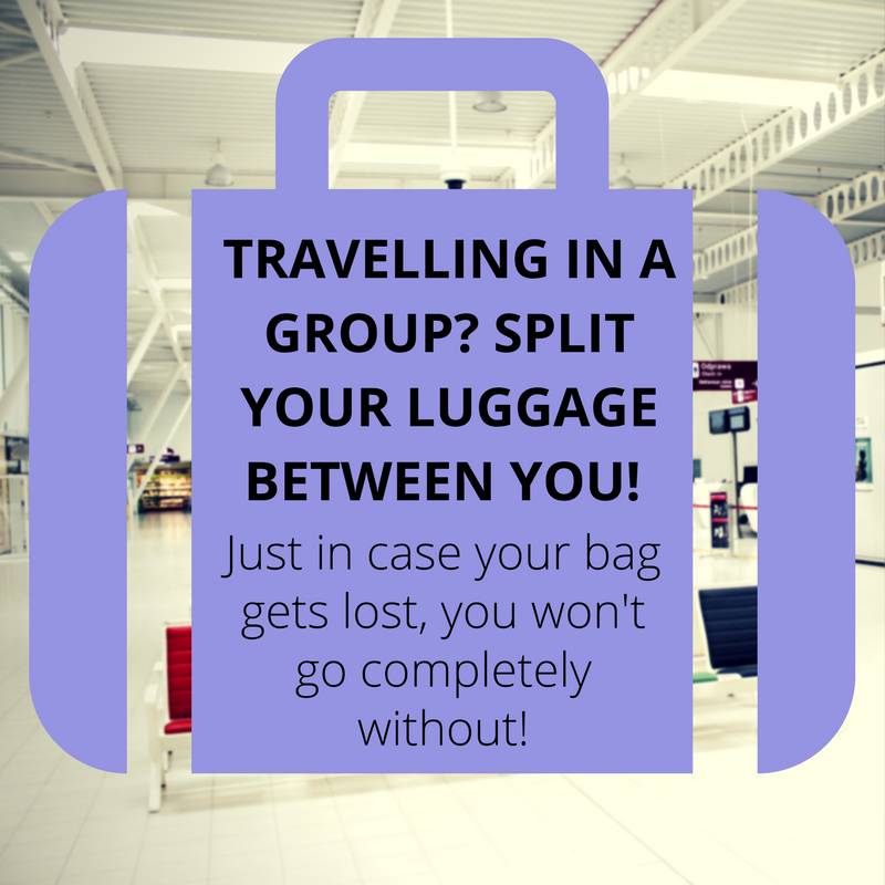 Planning your trip - packing tips