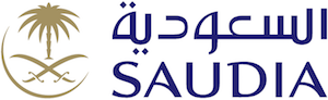 Saudia Airlines logo, now at Manchester Airport