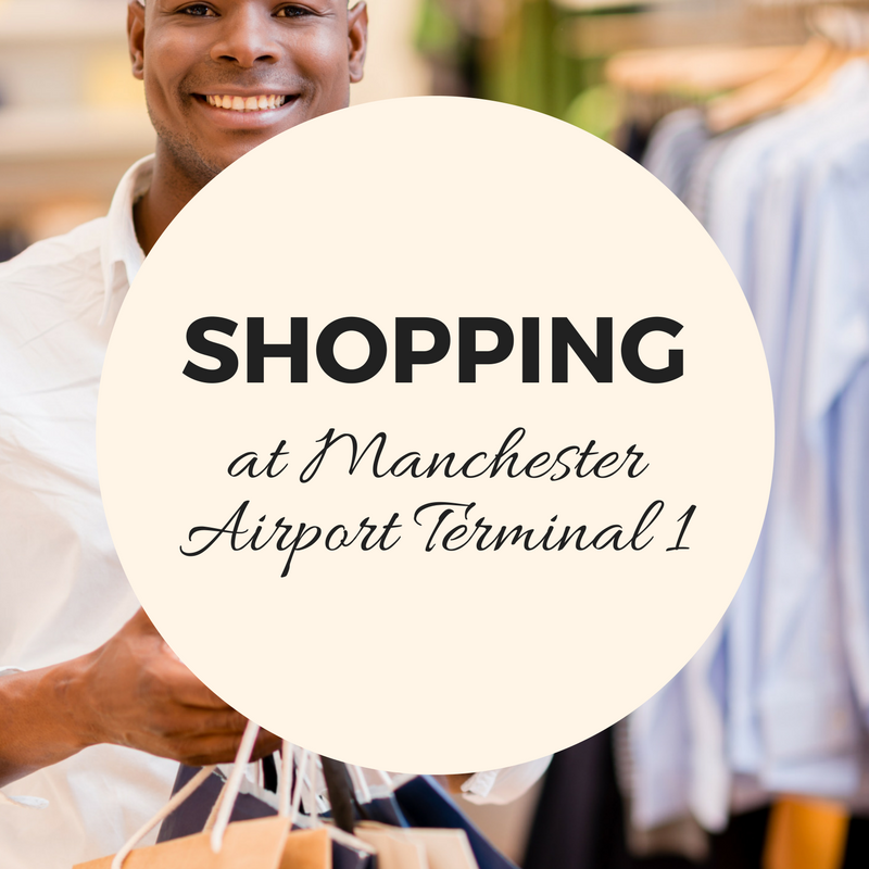 Shopping and Leisure facilities at Terminal 1, Manchester Airport leader