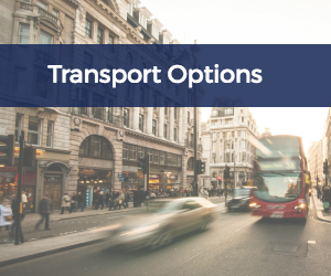 Find transport to and from Manchester Airport