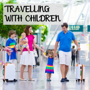 travelling with children at Manchester